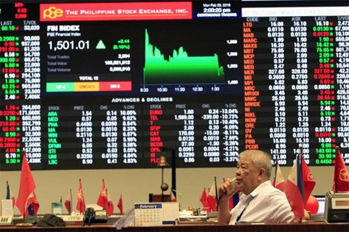 PH shares buck rally in Asia, fall below 8,300