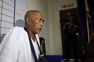 Maute patriarch transferred to Camp Bagong Diwa