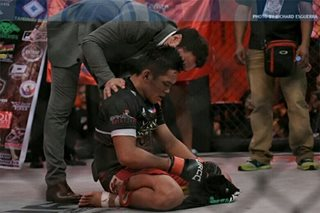 Pinoy fighters fall at UFC Singapore