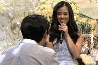 WATCH: Marco gets down on one knee, shares pick up line for Kisses