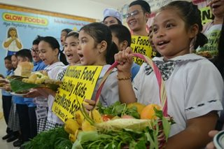 Nutritious food, healthy kids