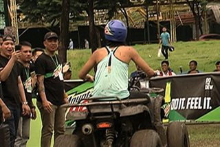 Extreme sports, virtual games, tampok sa 'adventure park'