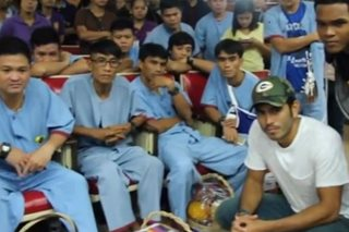 WATCH: Gerald Anderson visits wounded soldiers