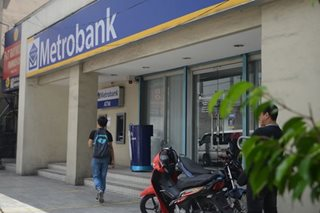 Metrobank fraud probe moved to Aug. 22