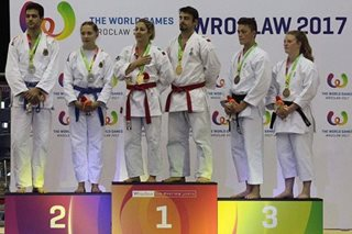 Filipino-Belgian wins bronze in jiu-jitsu World Games