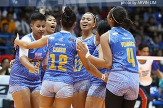 PVL: Jet Spikers shock Lady Warriors in semis opener