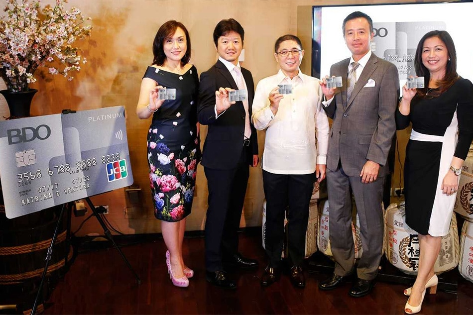 BDO JCB Platinum Credit Card launch