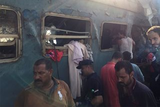 Egypt train crash kills dozens, injures more than 100