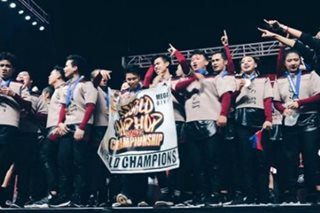 PH teams dominate world hip hop contest