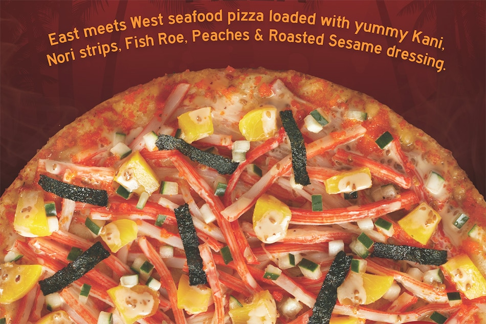 Love California Maki? You'll surely love this pizza, too!