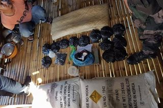 300-kg bomb chemicals, components seized in Zamboanga