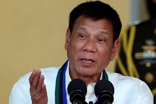 Duterte defends anti-drug operations anew