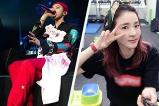 Fans lose it after Sandara performs with G-Dragon in concert