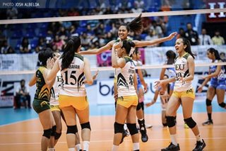 PVL: Lady Tams down hurting Lady Eagles for solo lead