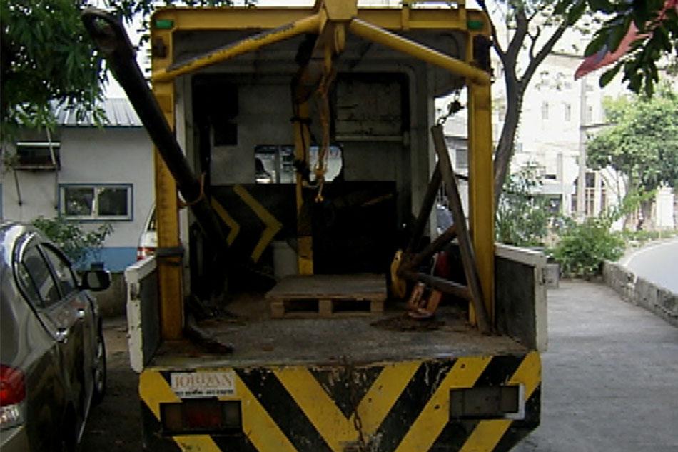 Modus ng drayber ng MMDA tow truck, bistado