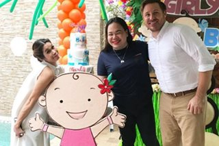 It's a girl for Pokwang, American boyfriend