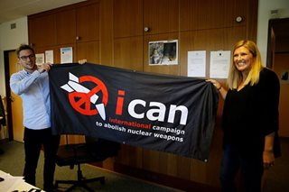 ICAN: staunch campaigners for an end to nuclear weapons