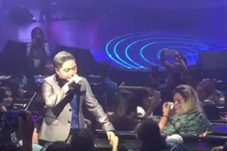 WATCH: Jake Zyrus nearly breaks down in tears with lola at concert