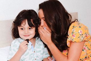 LOOK: Baby Zion surprises Sarah Lahbati on her birthday