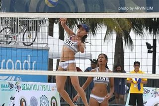UST outlasts FEU, clinches UAAP beach volleyball finals berth