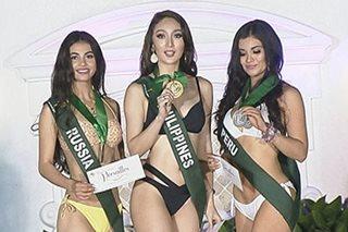 Miss PH Earth, dumipensa sa kontrobersiya sa 'best in swimsuit'