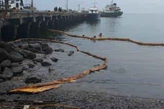 Oil spill spotted in Zamboanga City