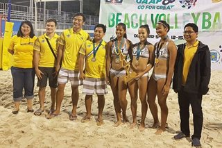 Back-2-back: UST rules UAAP women's beach volleyball anew