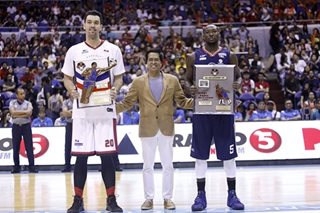PBA: Ginebra's Slaughter awarded conference top player; Durham, best import