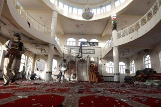 Prayers turn to nightmare in Kabul mosque bombing