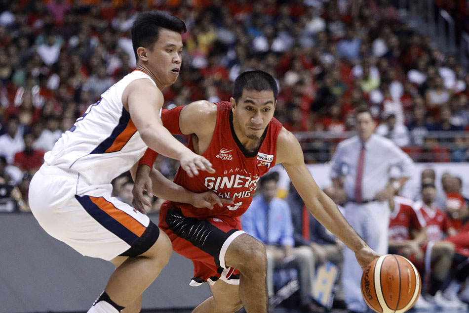PBA Finals: Ginebra regains series lead with Game 5 win over Meralco