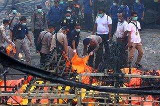Fireworks factory blaze kills 46, injures dozens in Indonesia