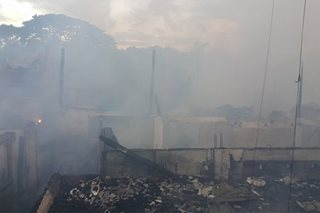 Fire razes about 60 houses in Iloilo City
