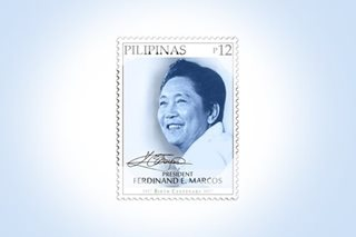 Martial law victims blast Marcos centenary stamp