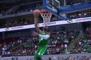 Dunk dud by La Salle's Abu Tratter doesn't escape 'Shaqtin' producer's eyes
