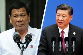 Duterte, China's Xi agree not to 'waste lives' over sea dispute