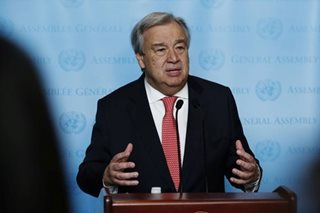 Libya slave auctions may be crime against humanity: U.N. chief