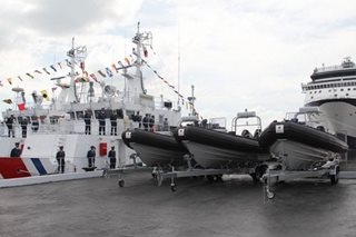Philippines commissions 3 more Japan-made coast guard ships
