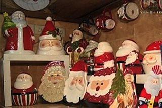 SILIPIN: Daan-daang Santa Claus items sa Baguio