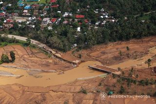 Battered bridge in Biliran