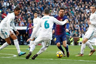 Real Madrid's title hopes fade as Barcelona secure 3-0 'Clasico' win