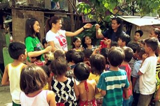 Christmas party para sa street kids, handog ng 'ASAP'