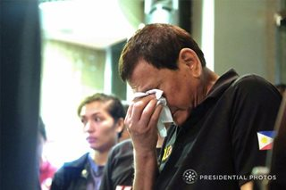 'From one sorrow to another': Duterte laments string of tragedies