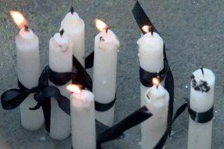 Candlelight protest kontra sa pagpatay sa Tanauan mayor, isinagawa