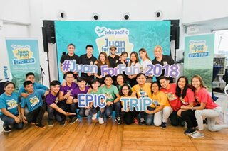 'Juan for Fun 2018' winners begin a free week-long adventure