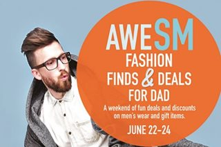 SM Supermalls gifts dads with treats in June