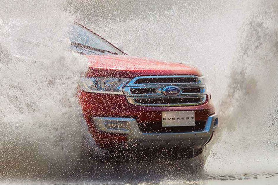 Get a smooth and sleek ride this rainy season with the Ford Everest