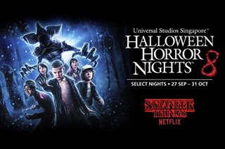 Universal Studios Singapore recreates Netflix's Stranger Things for Halloween Horror Nights