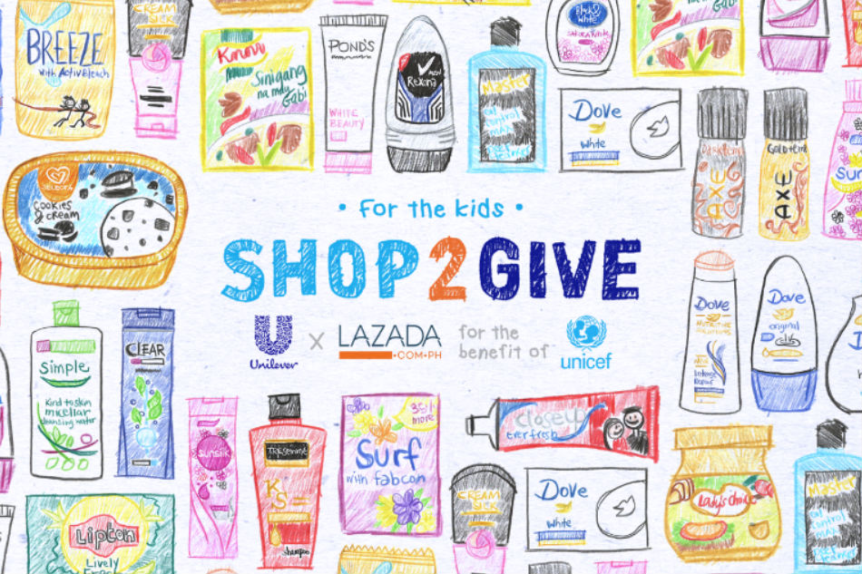 Why did Unilever brands use kiddie drawings as profile photos?
