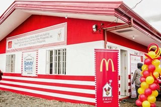 Ronald McDonald House Charities turns over 'Bahay Bulilit' for kids in Marawi