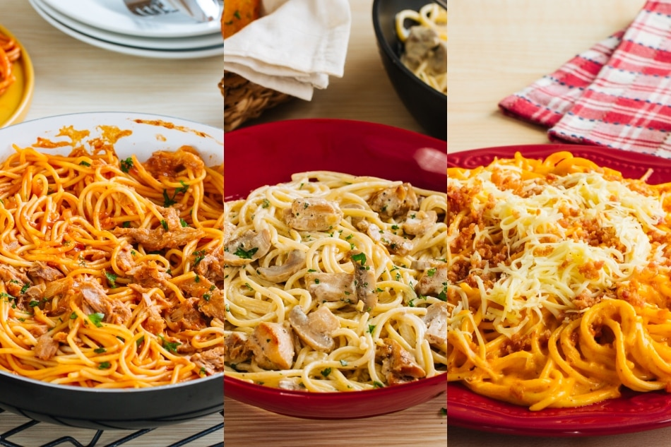 Unique spaghetti recipes for the family Noche Buena